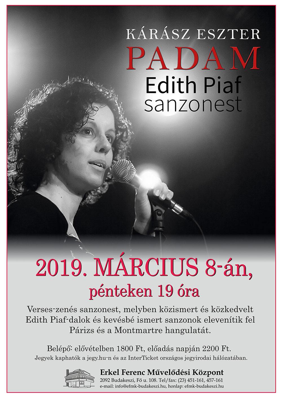 Kárász Eszter - Edit Piaf sanzonest