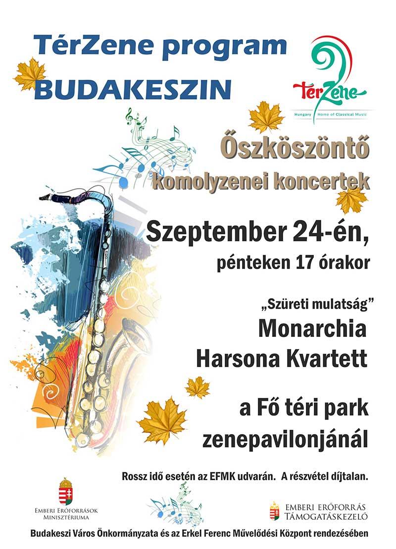 Őszköszöntő koncertek
