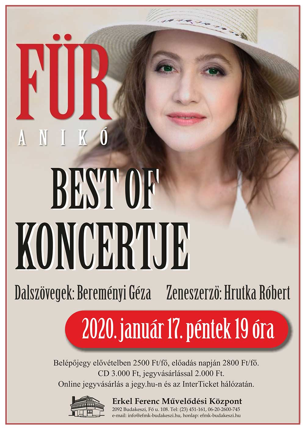 Für Anikó - Best of koncert