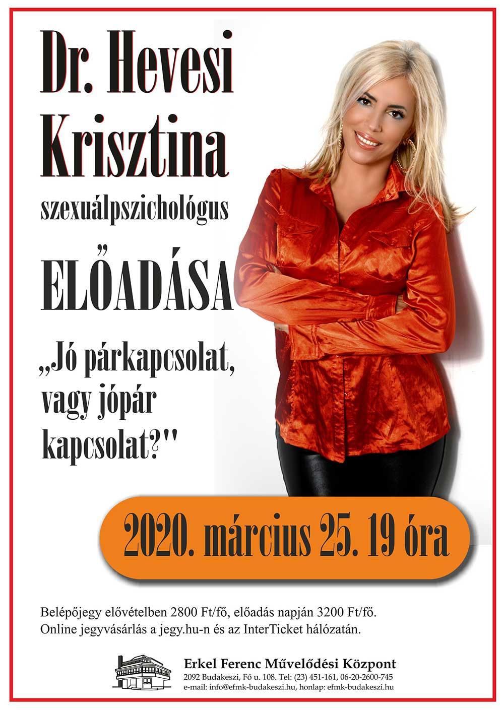 Dr Hevesi Krisztina előadása
