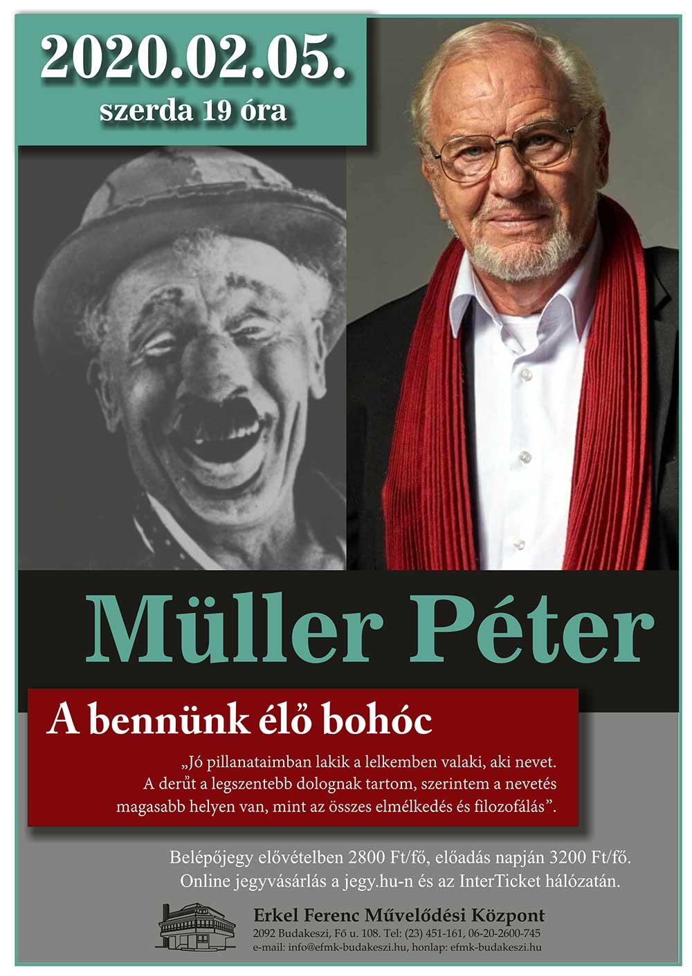 Müller Péter előadása