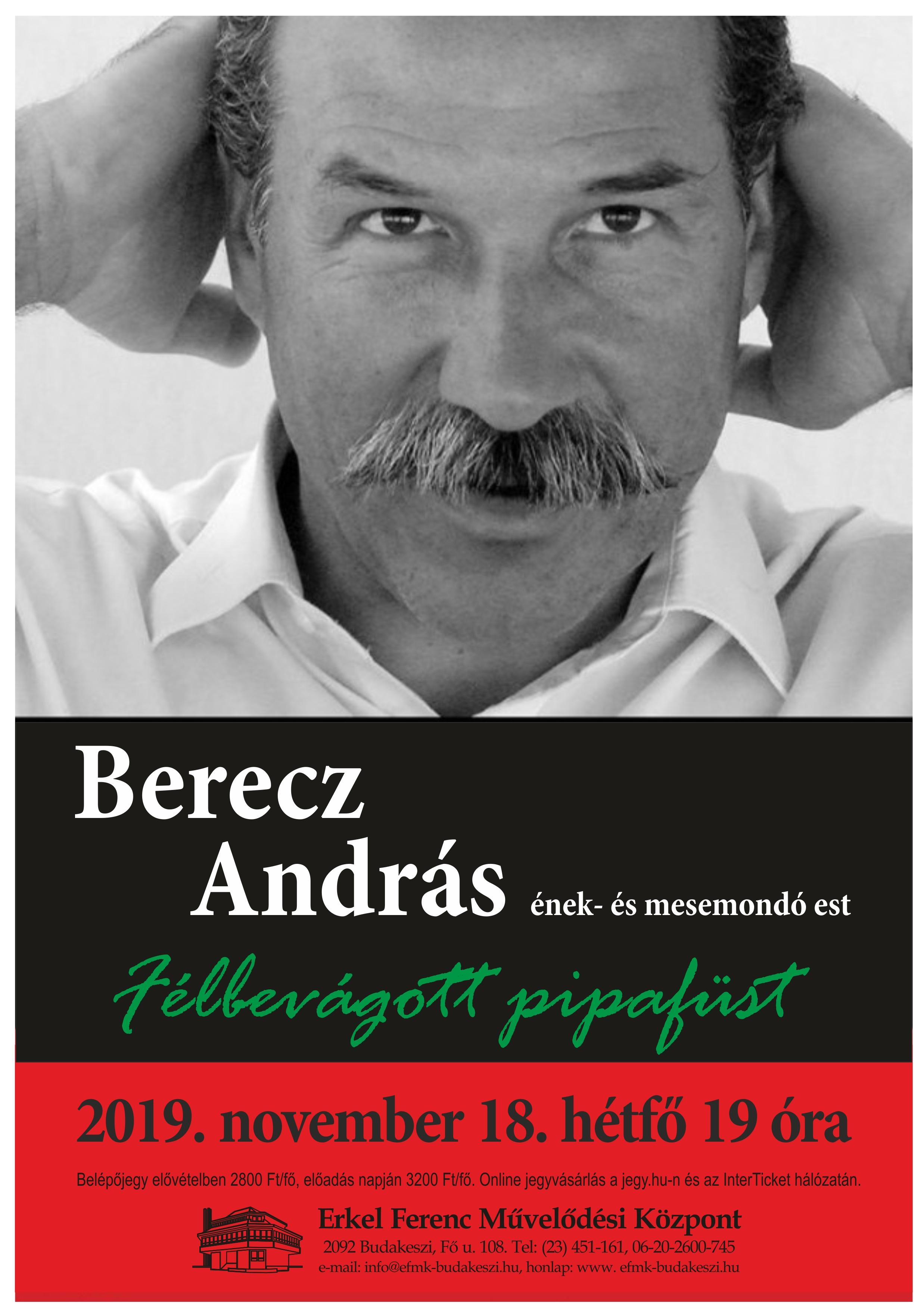 Berecz András - Ének- és mesemondó est