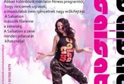 Hétfő - Salsation fitness