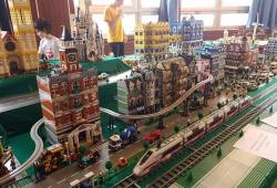 LEGO® és Vasútmodell kiállítás április 11-14-ig
