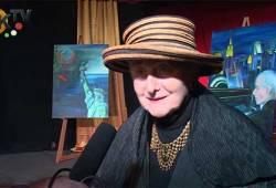 Gratulálunk Géczy Olga művésznőnek!