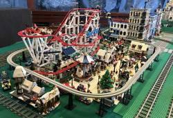Lego város és vasút-modell kiállítás (2020.09.11-13.)