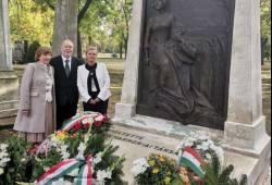 Megemlékezés Erkel Ferenc síremlékénél