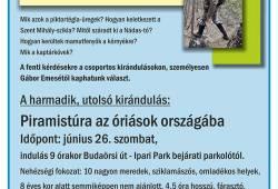 Csoportos kirándulások Gábor Emesével Az Álomvölgy rejtélye c.könyvének helyszíneire.