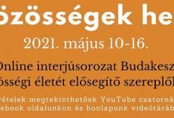 Közösségek Hete (05.10-16.)